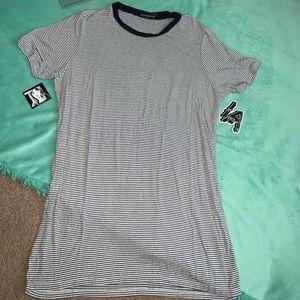 Brandy Melville stripe t-shirt dress NWOT